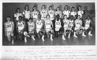 Rochester State Jr. College 1966-1967 portrait of men's basketball team