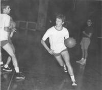 Bethany Lutheran College 1969-70 snapshot of men's basketball player, Ken Sill