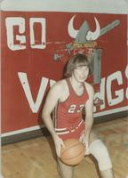 Bethany Lutheran College 1973-1974 snapshot of men's basketball player