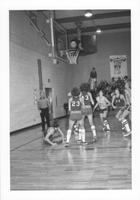 Bethany Lutheran College 1974-1975 snapshot of men's basketball game