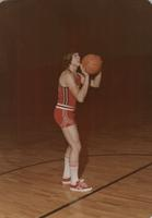 Bethany Lutheran College 1974-75 portrait of men's basket ball player, Wally Krentz