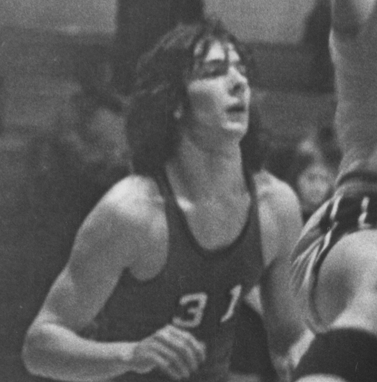 Bethany Lutheran College 1975-1976 snapshot of men's basketball player, Steve Mailloux