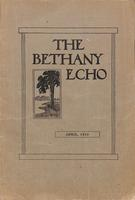 The Bethany Echo, April 1913