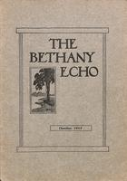 The Bethany Echo, October 1913
