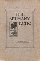 The Bethany Echo, November 1913
