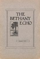 The Bethany Echo, January 1914