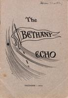 The Bethany Echo, December 1914