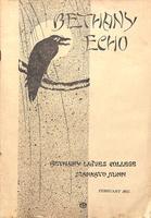 The Bethany Echo, February 1915