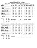 Bethany Lutheran College 2005 statistics for volleyball match versus Martin Luther College