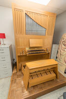 Snapshot of a Cassavant organ used at Bethany Lutheran College