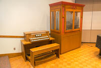 Snapshot of a Hilding organ used by Bethany Lutheran College