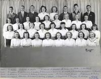 Bethany Lutheran College, Mankato, portrait of the class of 1945