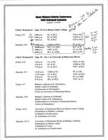 Bethany Lutheran College 2005 UMAC volleyball schedule