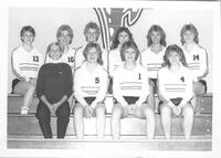 Bethany Lutheran College 1984 portrait of the volleyball team 2
