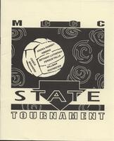 MCCC 1994 state volleyball tournament program