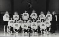 Bethany Lutheran College 1988 portrait of the volleyball team