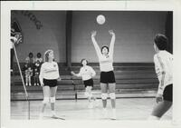 Bethany Lutheran College 1988 volleyball team action photograph 5