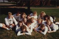 Bethany Lutheran College 1989 volleyball team photograph 1