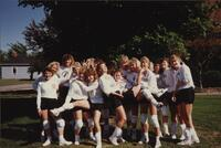 Bethany Lutheran College 1989 volleyball team photograph 2
