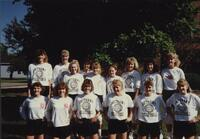 Bethany Lutheran College 1989 photograph of the volleyball team