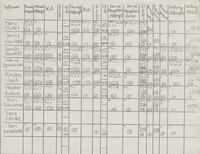 Bethany Lutheran College 1990 volleyball statistics for the season