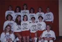 Bethany Lutheran College 1990 photograph of the volleyball team