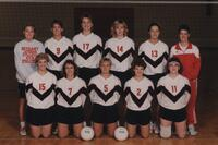 Bethany Lutheran College 1991 portrait of the volleyball team